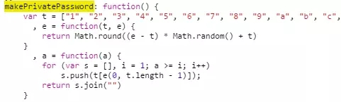 自定义百度网盘分享密码 (Javascript)